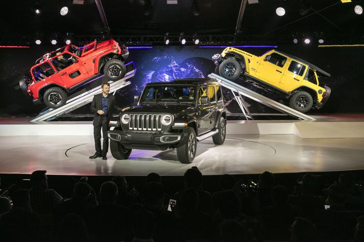 Jeep Wrangler JL Reveal LA Auto Show