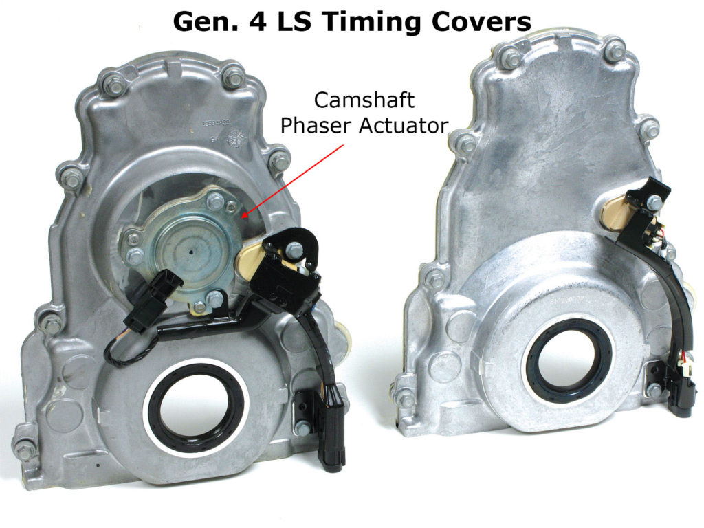 LS Gen 4 Timing Covers VVT