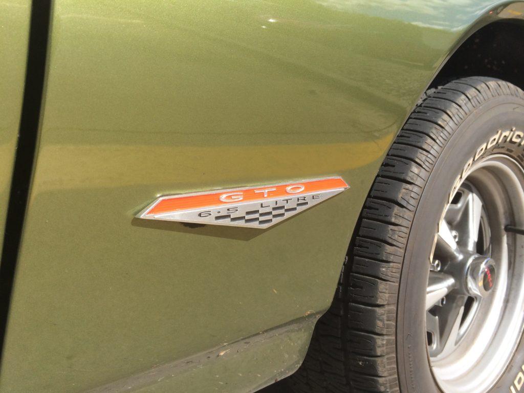 1968 Pontiac GTO Emblem