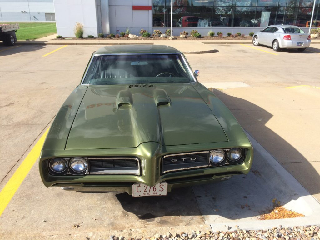 1968 Pontiac GTO Nose