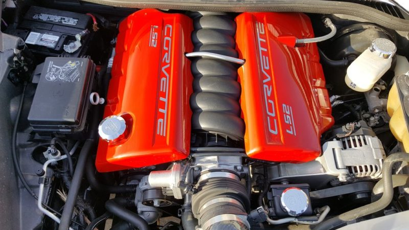 LS2 car engine