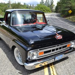 1961 Ford Truck Unibody, Front Hood
