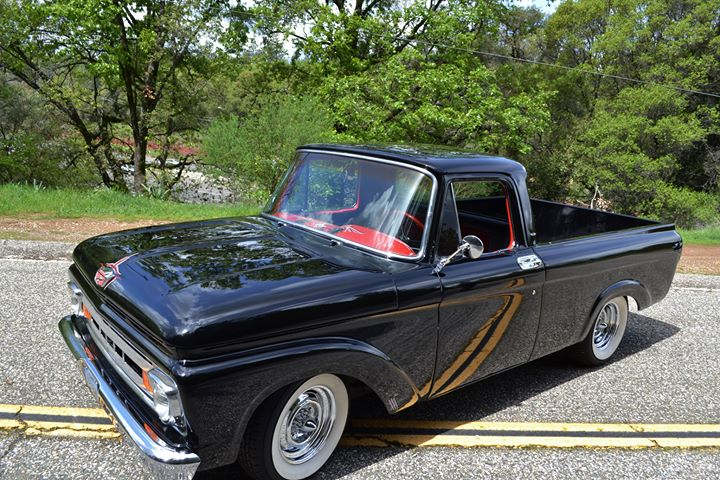 1961 Ford Truck Unibody, Driver Side