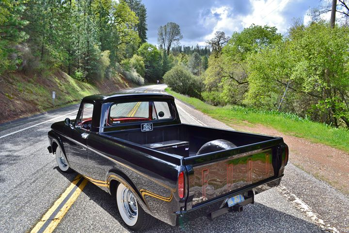 1961 Ford Truck Unibody, Bed