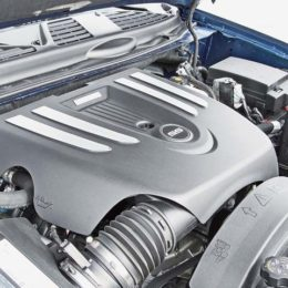 """The LS2 """"truck""""  engine could be found in the Chevy Trailblazer SS and SSR, plus the Saab 9-7X Aero,. (Image/Truck Trend)"""
