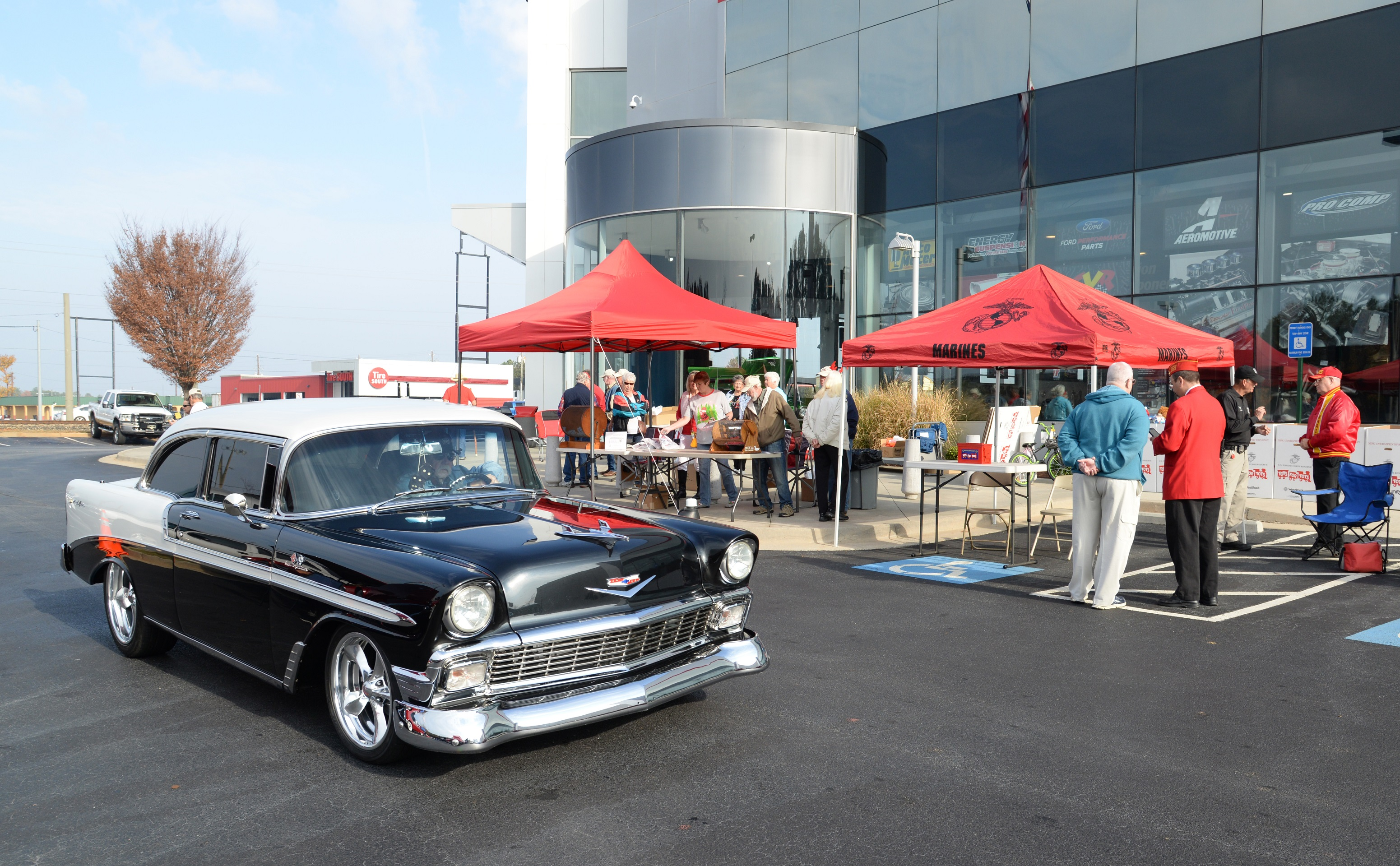 Toys for Tots Cruise In 57 Chevy