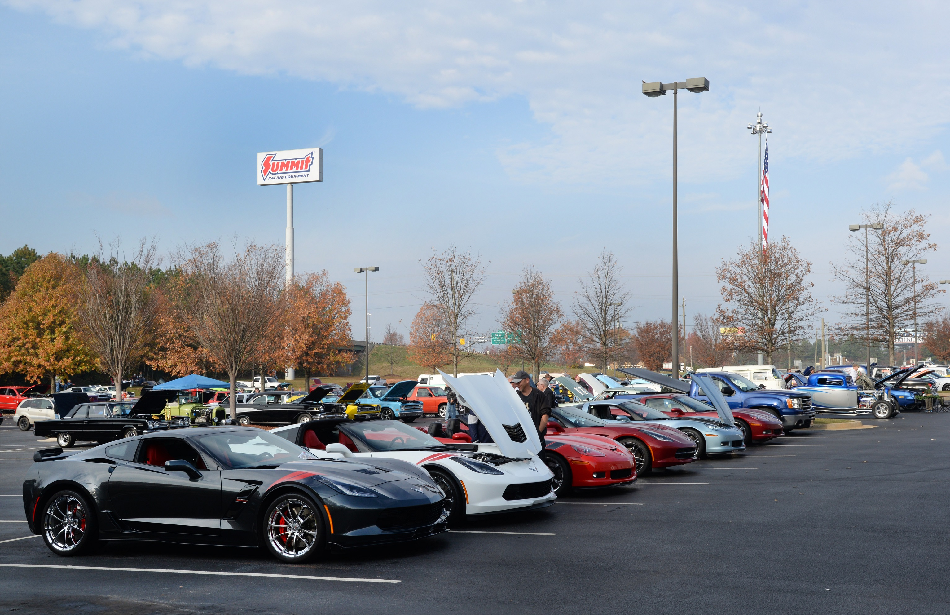 Toys for Tots Cruise In Corvettes