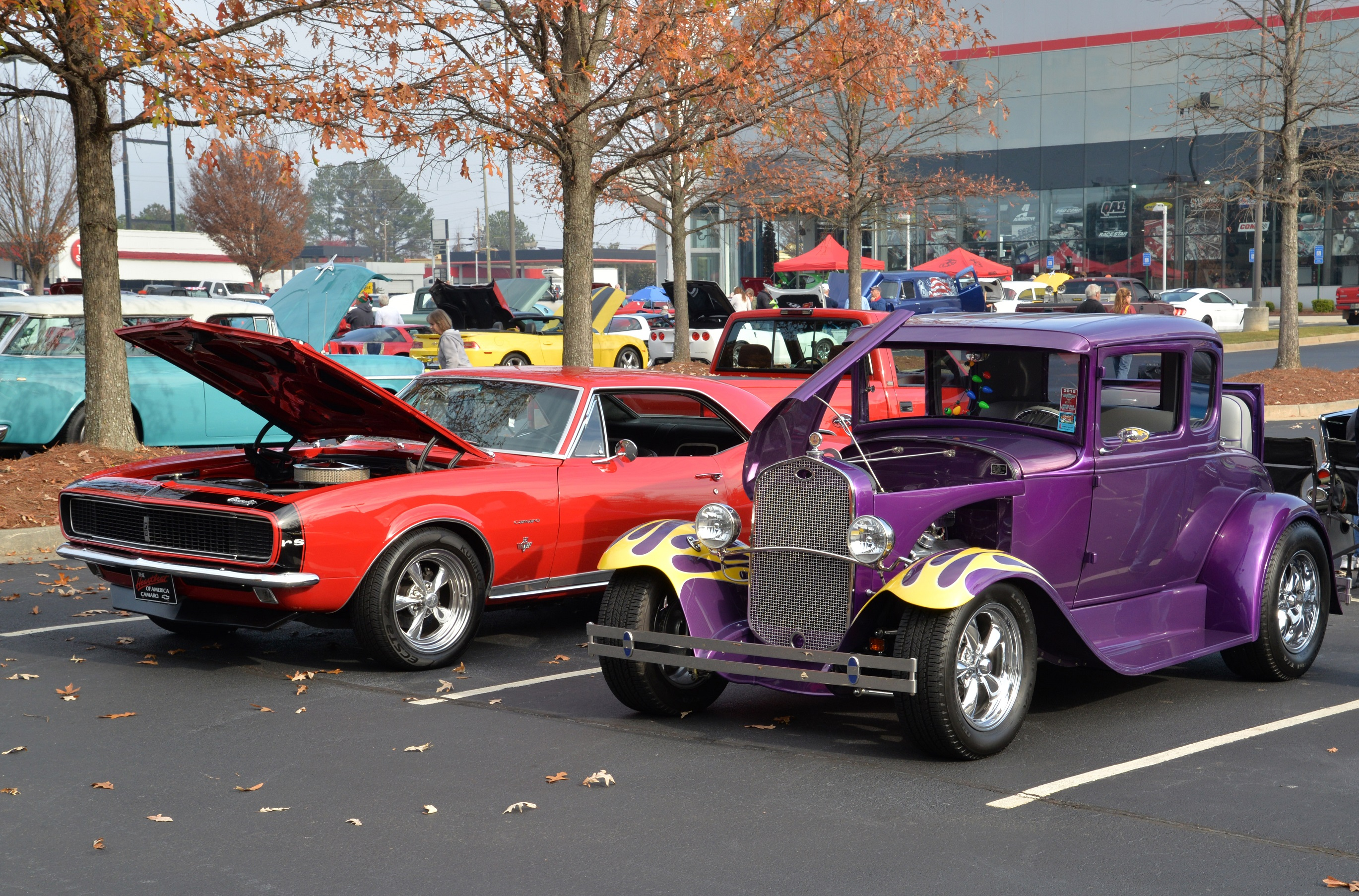 Toys for Tots Cruise In Hot Rods
