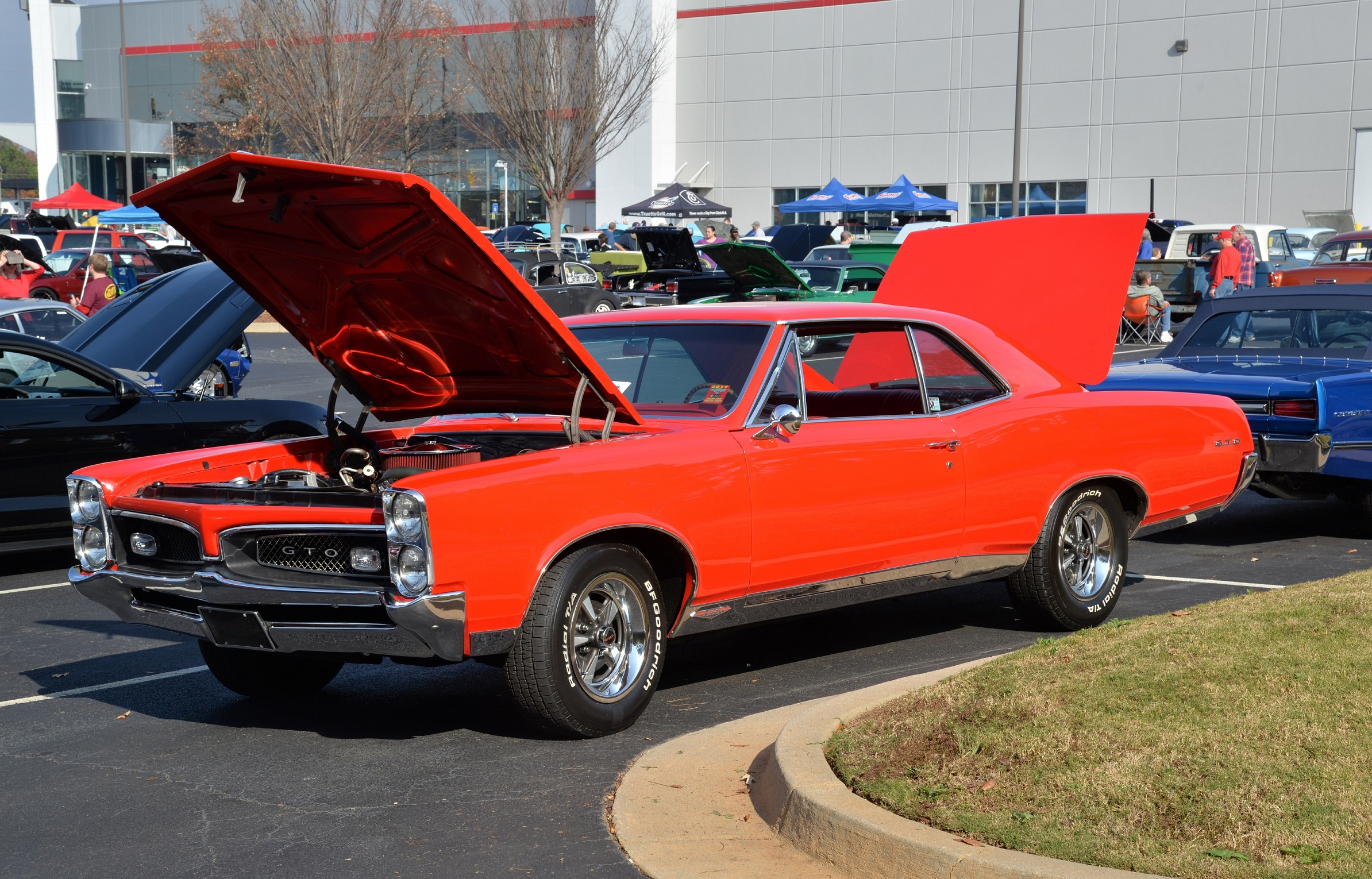 Toys for Tots Cruise In Pontiac GTO