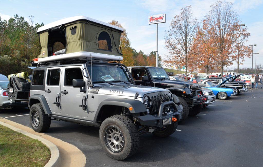 Toys for Tots Cruise In Jeeps