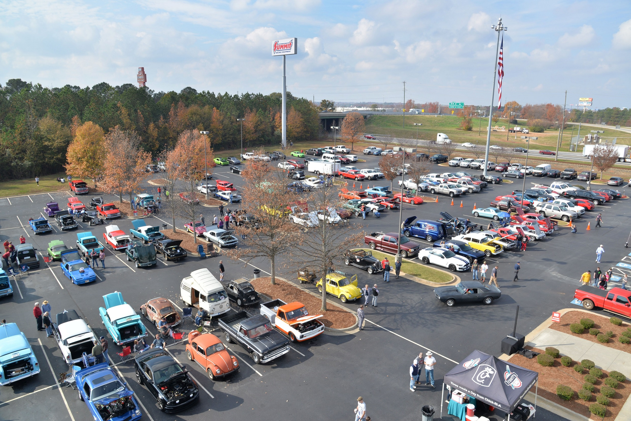 Toys for Tots Cruise In Arial