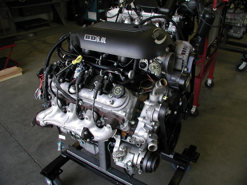 LS2 truck engine