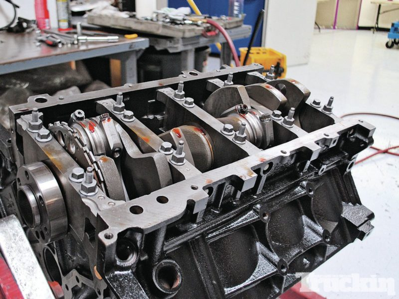 LS2 truck engine rotating assembly photo by Truck Trend