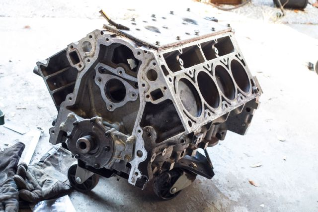 ls-v8-engine block by Super Chevy