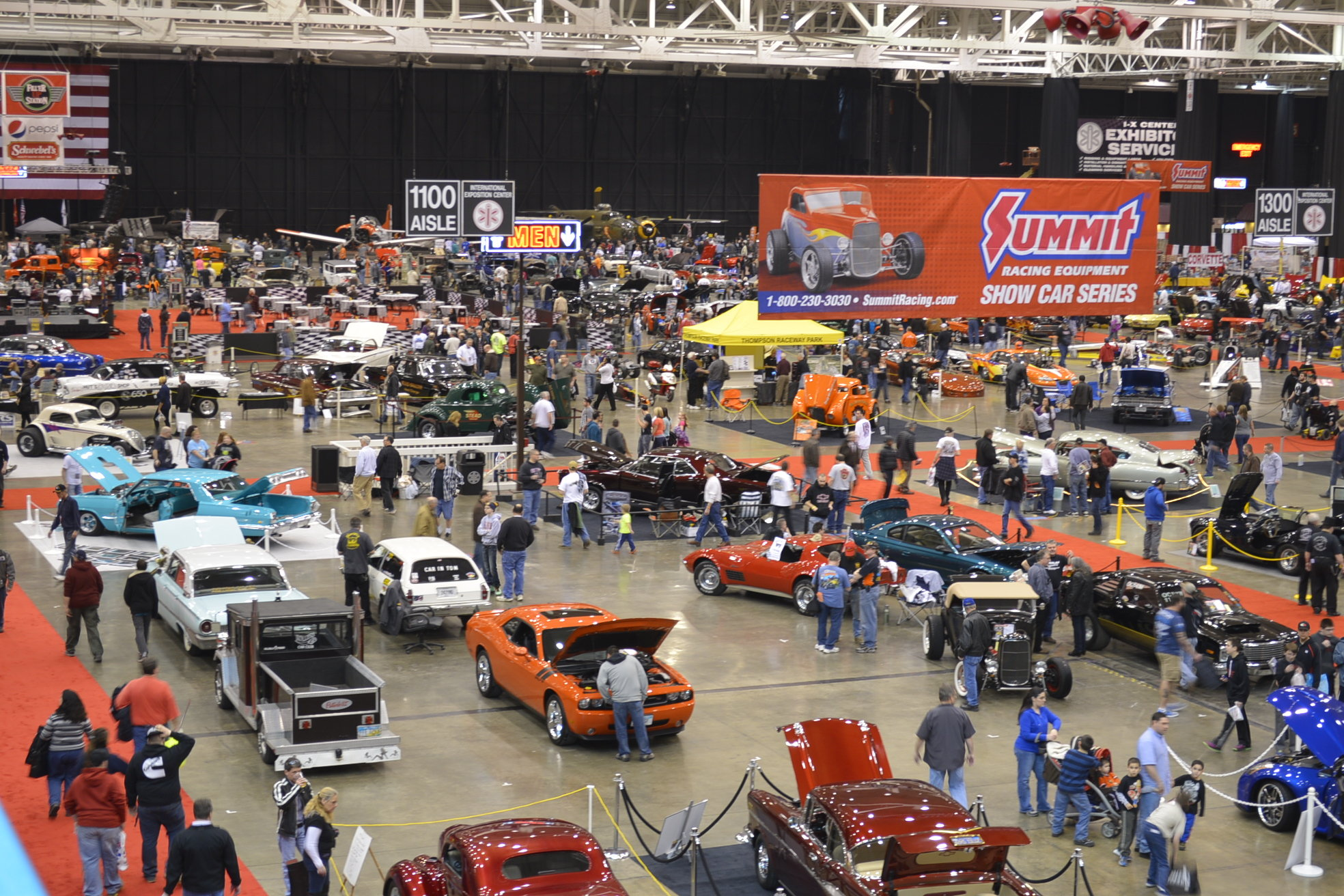 Summit Racing Show Car Series Dates And Locations OnAllCylinders - Car show convention center pittsburgh pa
