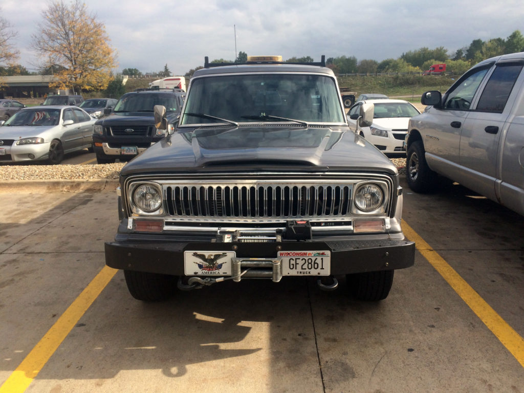 Jeep J10 Truck Grille