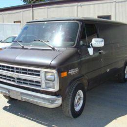 1985 chevy van