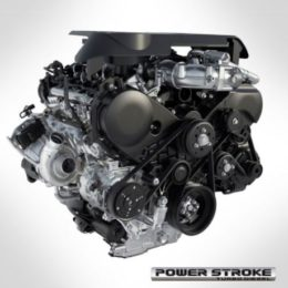 This is Ford's new turbocharged 3.0L Power Stroke Diesel (Image/Ford)