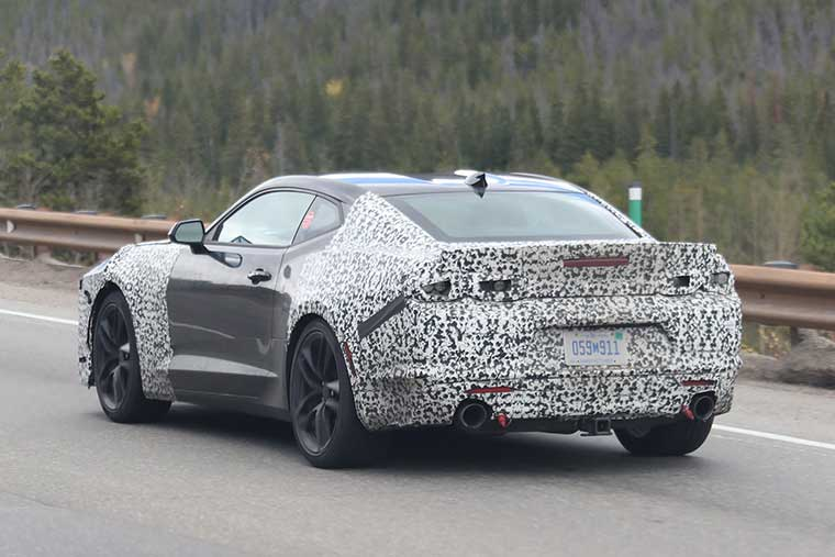 2019-Chevy-Camaro,-Brian-Williams,-SpiedBilde,-Rear,-for-Web