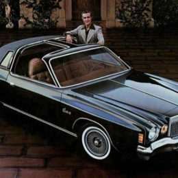 "Instead of focusing on performance, many cars (like this Chrysler Cordoba) highlighted luxury features like ""rich, Corinthian leather.""  (Image/Mac's Motor City Garage)"