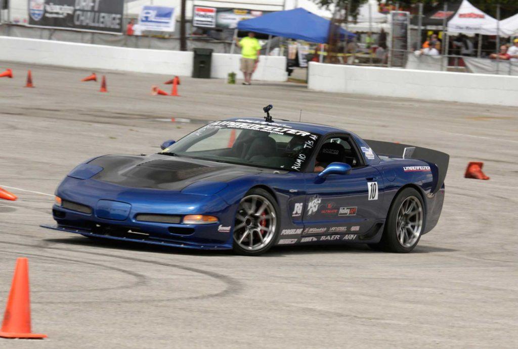 Danny-Popp's-Corvette-Z06-on-Track