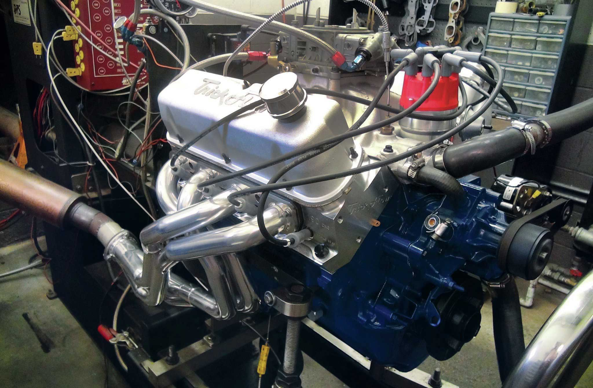 Ford Windsor On Dyno on 351 cleveland engine horsepower