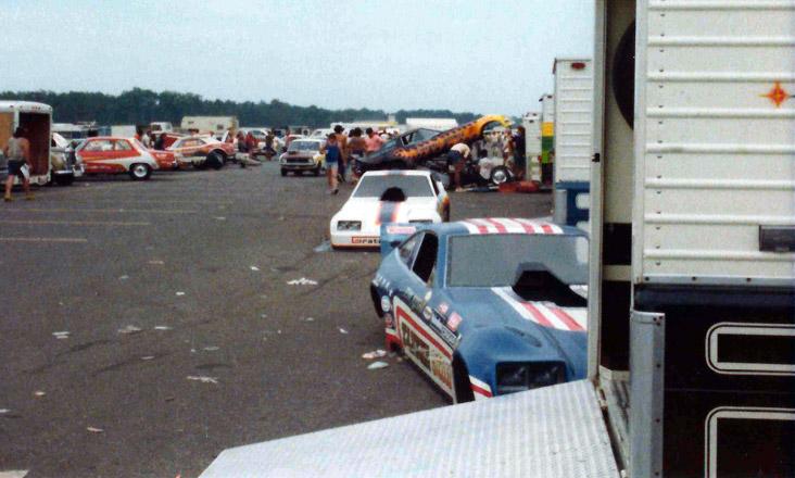 NHRA Racers in Englishtown