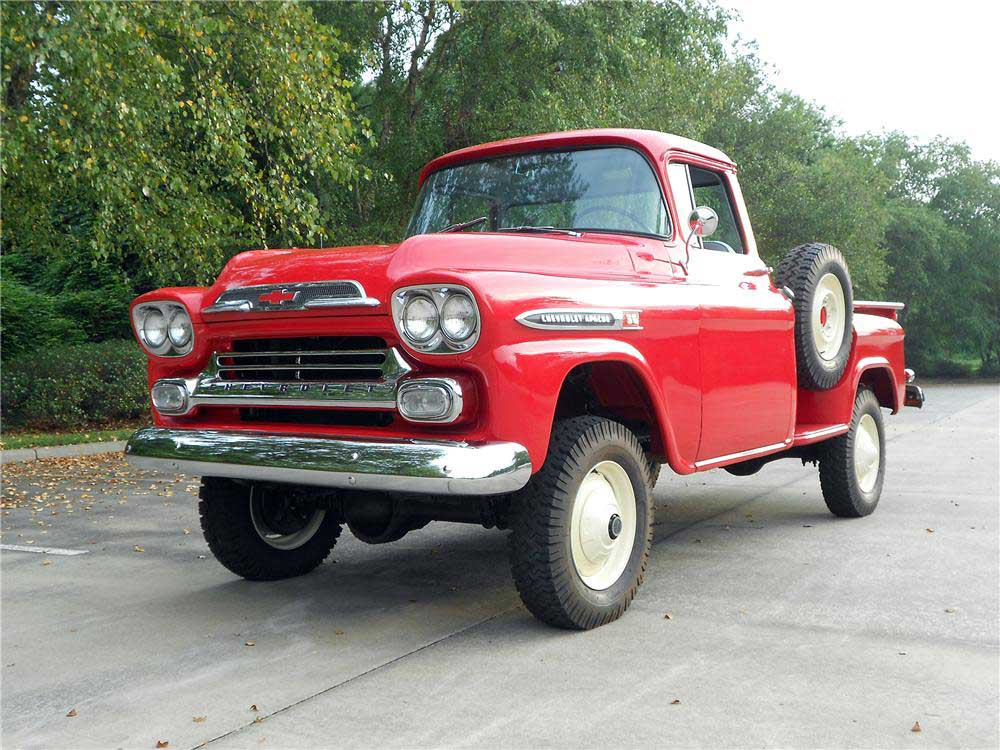 mailbag supercharging a small block in a 1959 chevy 4x4 truck onallcylinders. Black Bedroom Furniture Sets. Home Design Ideas