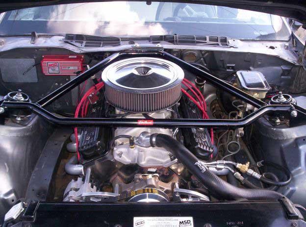 3rd gen Camaro-Engine-Bay