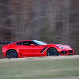 The new Corvette ZR1 at Virginia International Raceway. (Image/Richard Prince - Chevrolet)