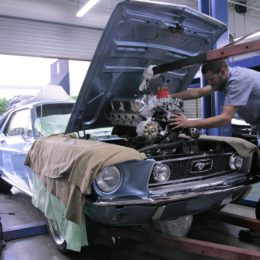 1968 Ford Mustang engine swap