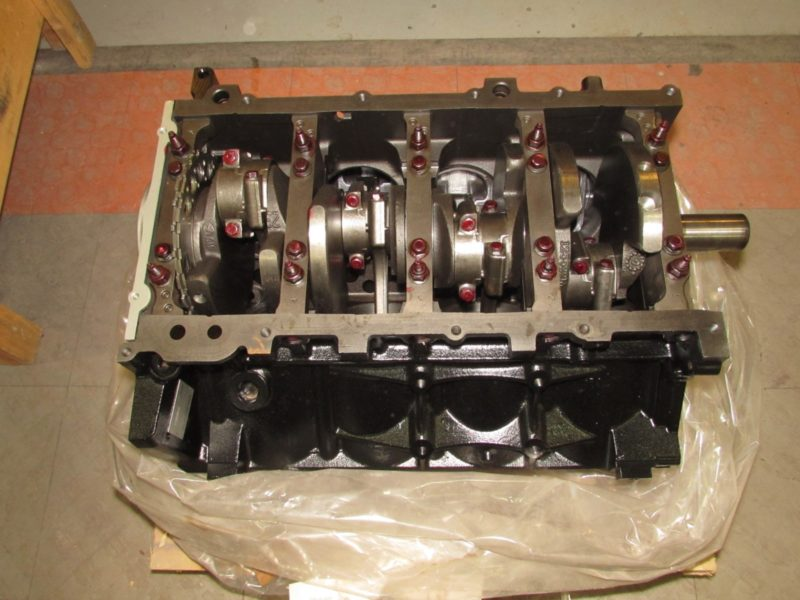 LQ4 engine crankshaft