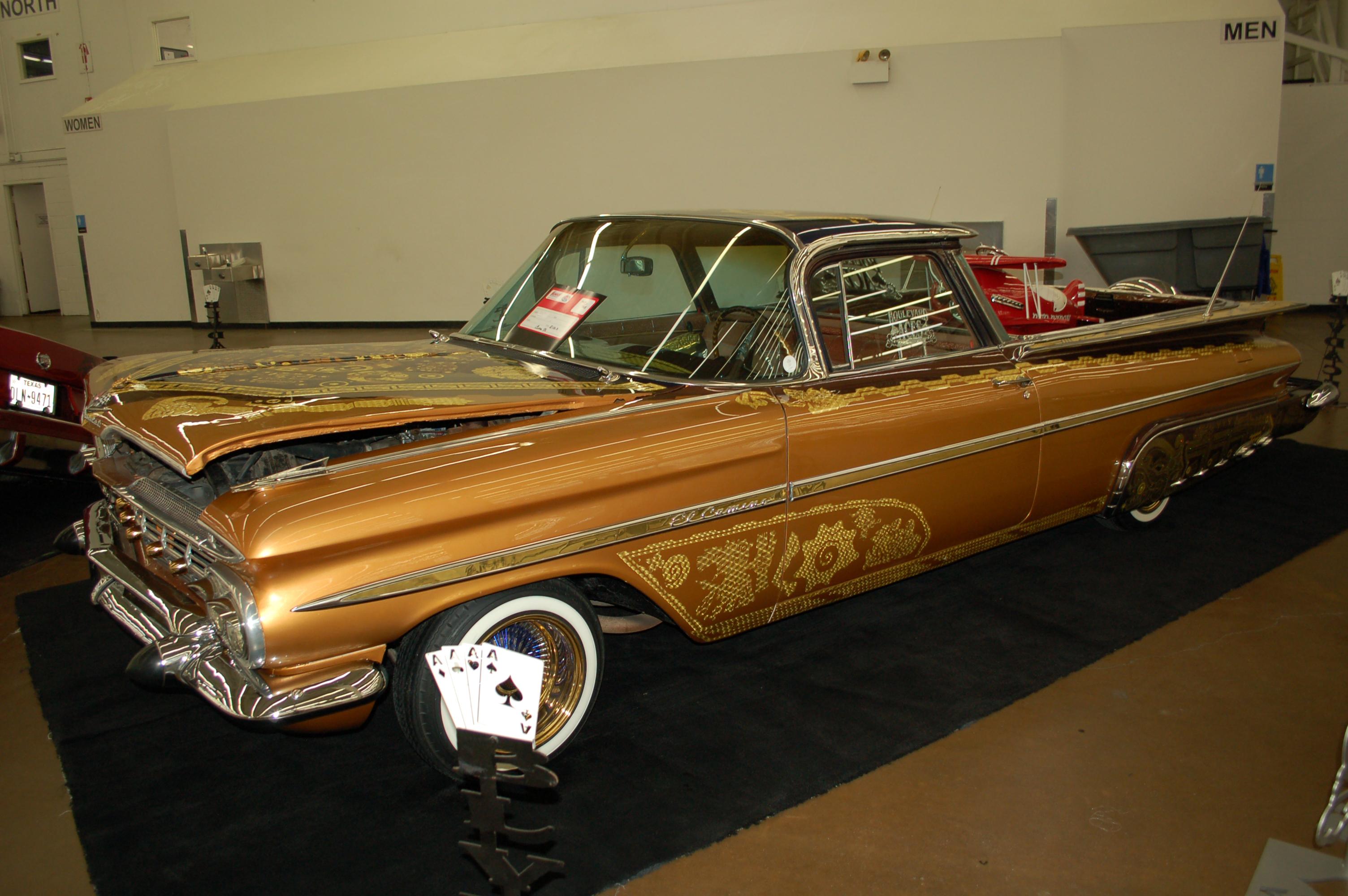 Dallas-AutoRama-Chevy-El-Camino-Lowrider