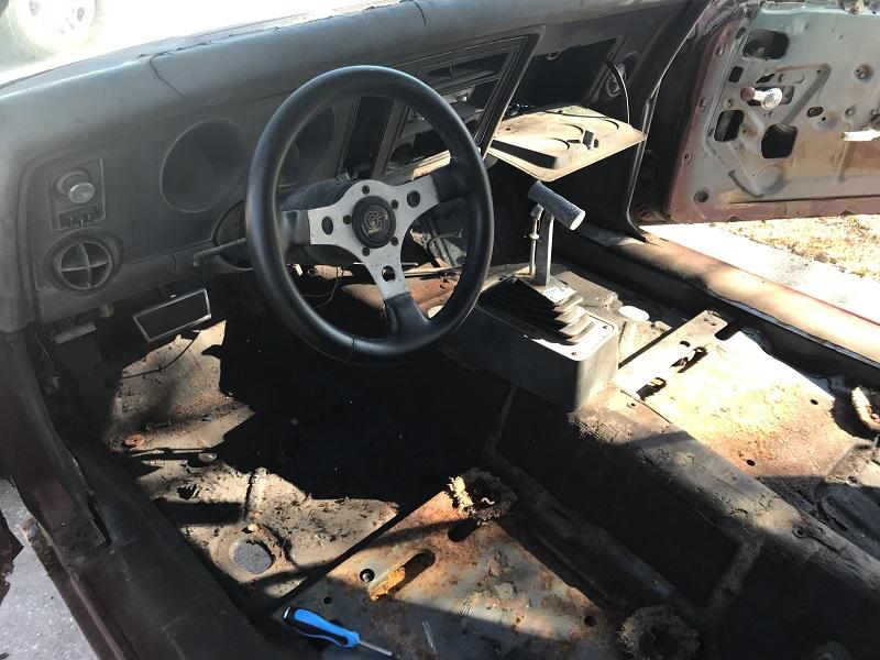1969 Pontiac Firebird restoration