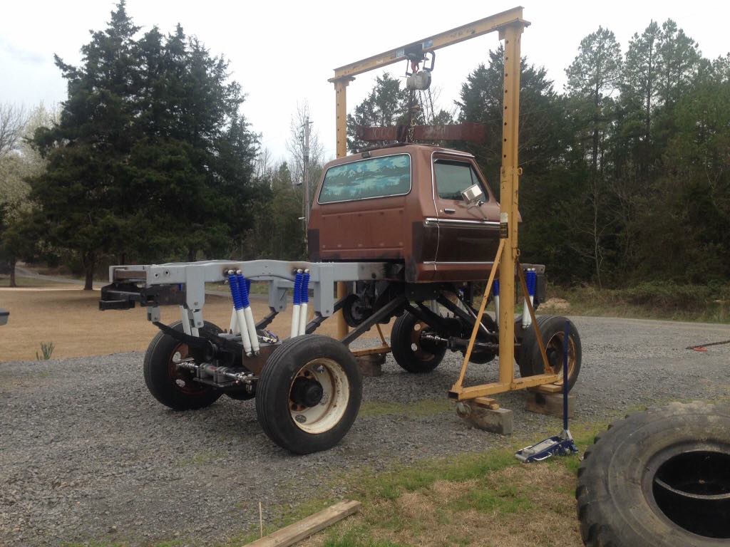 Ford-F-350-Monster-Truck-cab-and-chassis