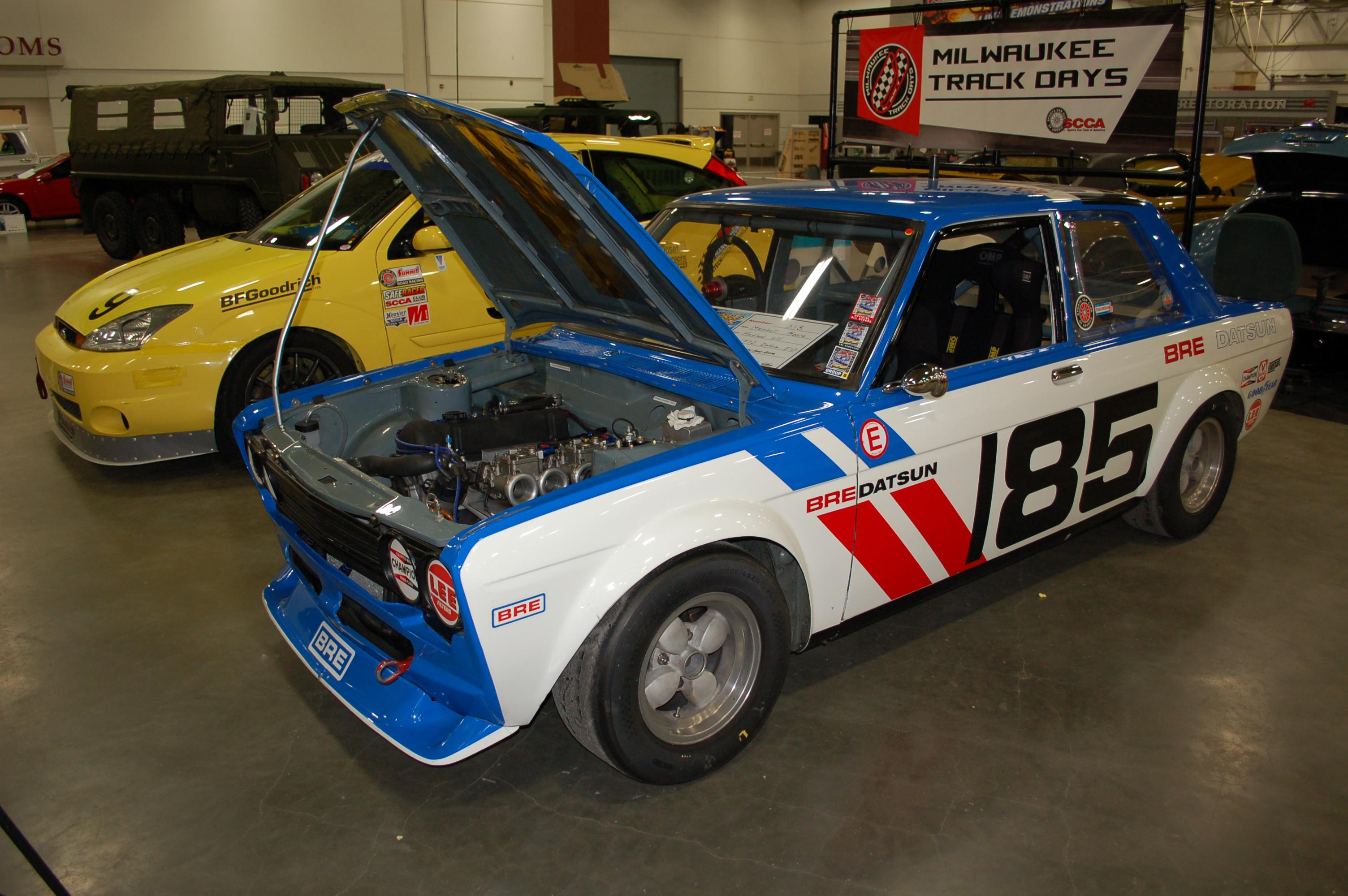 Milwaukee-World-of-Wheels-Datsun-510-Race-Car