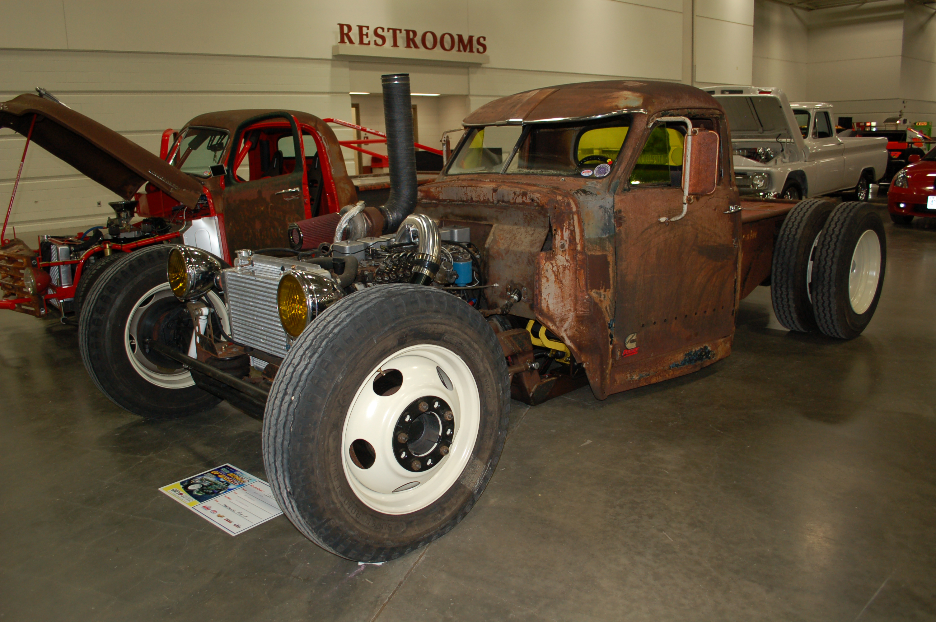 Milwaukee-World-of-Wheels-Rat-Rod-Diesel-Truck