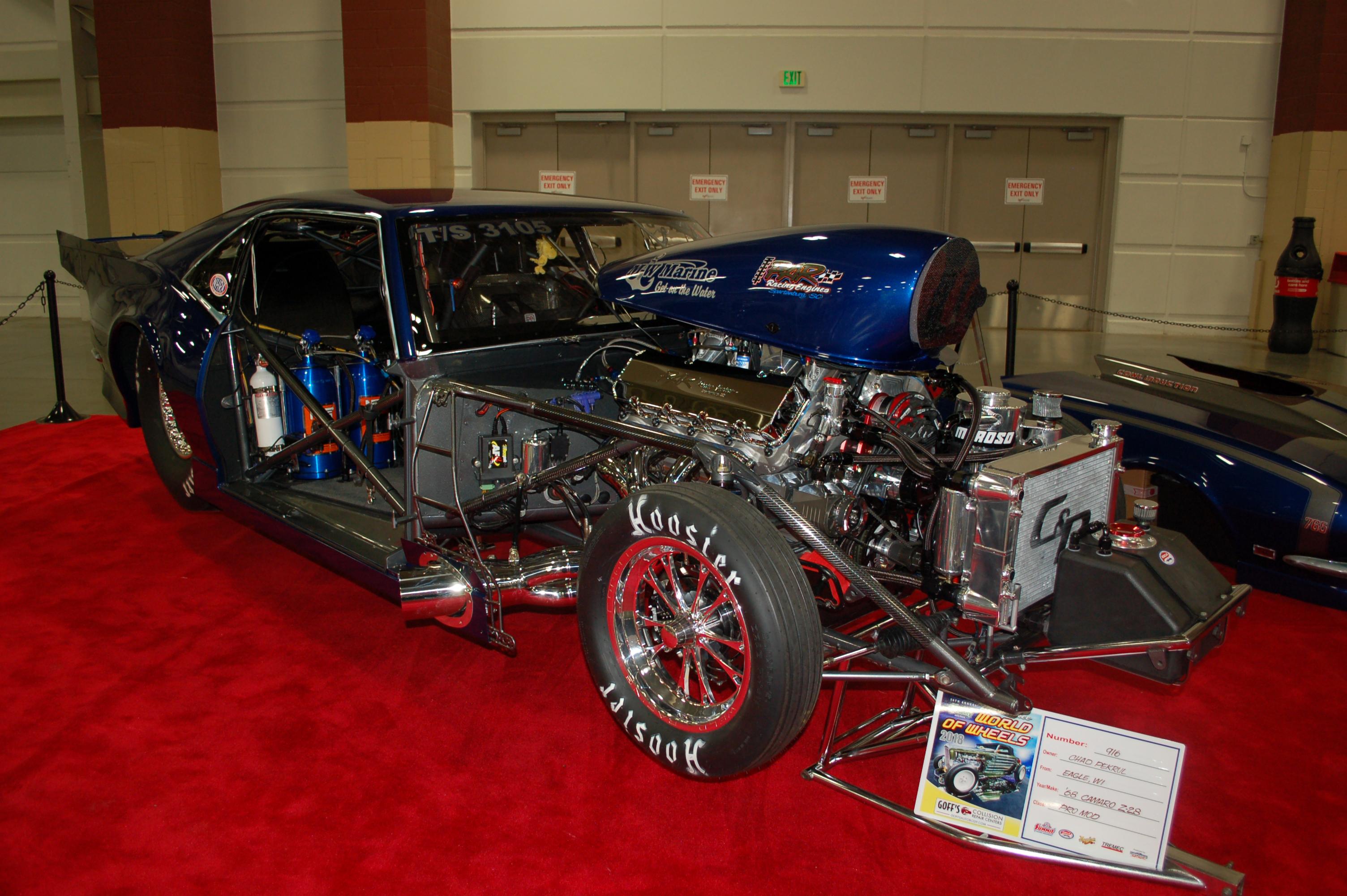 Milwaukee-World-of-Wheels-Tube-Frame-Camaro-Dragster