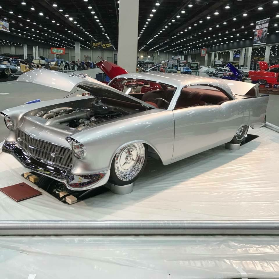 Atlanta Auto Show >> 1957 Chevy 150 Hardtop Wins 2018 Ridler Award! - OnAllCylinders