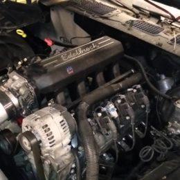 LM7 engine swap into 1978 camaro - YouTube