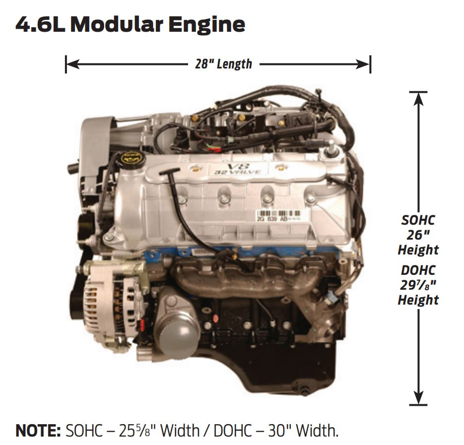 1998 ford f150 4.6 engine specs