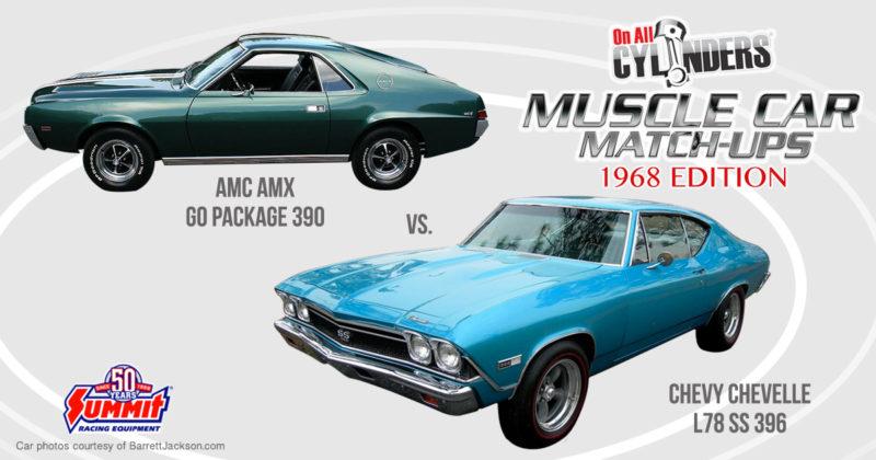 68 Chevelle vs 68 AMX