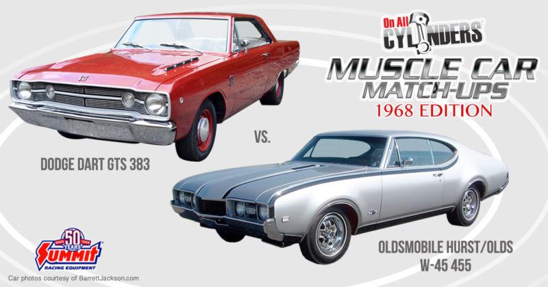 68 Dodge Dart vs 68 Hurst Olds
