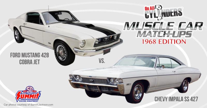 68 Ford Mustang vs 68 Chevy Impala