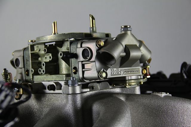 Holley carburetor image by Street Muscle Magazine