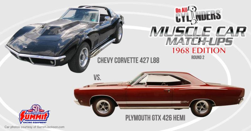 68 L88 Corvette vs 68 Plymouth GTX