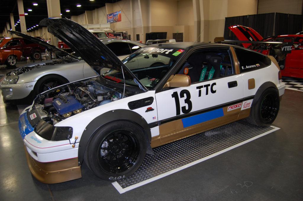 SLC-Car-Show-CRX-Drag-Car-Honda