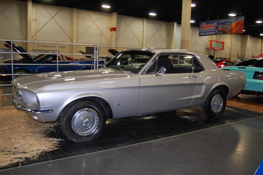 SLC-Car-Show-Ford-Mustang-Gen1