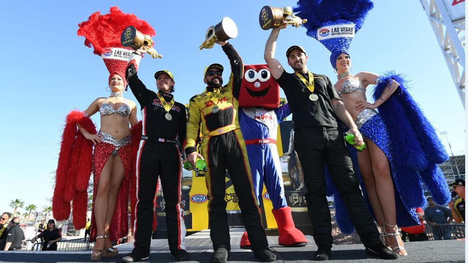 Las Vegas Four-Wide Nationals winners