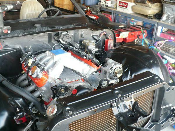 LC8 intake manifold